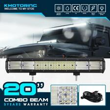 "20Inch QUAD ROWS 2016W LED Work Light Bar 23""/28"" For FORD TERRITORY AU"