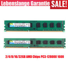 DDR3 8GB 16/32GB 2GB AMD Chips 1600MHz PC3-12800U CL11 PC3 DIMM memory DMQ LOT