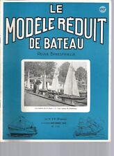 """MODELE REDUIT DE BATEAU N°115 PLAN : HYDROGLISSEUR """"TORNADO"""" / TRANSSYLVANIA"""