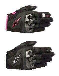 Alpinestars Motorcycle Motorbike Stella SMX-1 Air v2 Women's Gloves