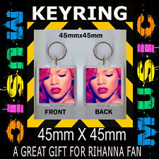 RIHANNA - LOUD - CD COVER  KEYRING