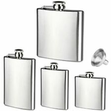 With Keychain Hip Flask Stainless Steel Alcohol Flagon Liquor Wine Pot Flagon