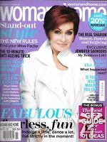 Woman And Home Magazine Sharon Osbourne Stand Out Style Jennifer Saunders 2013