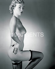 1950s 8X10 NUDE PLAYBOY PLAYMATE ARLENE HUNTER PHOTO FROM ORIGINAL NEG-8 RARE!