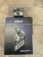 More details for zoom iq7 ms stereo microphone for apple iphone/ipad new boxed sealed