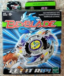 Wolborg 2 Beyblade A-39 HASBRO OLD GENERATION - US Seller