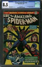 Amazing Spider-Man #135 CGC 8.5 (OW-W) 2nd appearance of the Punisher