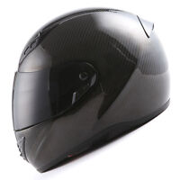 MARS Genuine Real Carbon Fiber Motorcycle Full Face Helmet Snell M2015 DOT