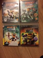 Sony PS3 - Ratchet And Clank   Bundle collection - 4 Games