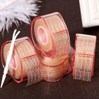 300Pcs Invisible Fiber Double Eyelid Adhesive Sticker Tape Technical Eye Tapes