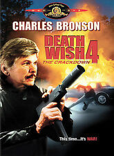 Death Wish 4: The Crackdown (DVD, 2004) SKU 4521