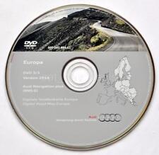 Audi A3 A4 A6 TT R8 RNS-E navigation DVD 2016/2017 Germany Denmark Sweden Norway