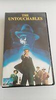 THE UNTOUCHABLES VHS COLECCIONISTA EDICION INGLESA ENGLISH