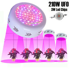 UFO 210W LED Grow Light Full Spectrum Hydroponic Plants Veg Flower Lamp Panel