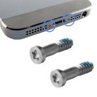 iPhone 5 Torx Stern Pentalobe Schraube Screws Schrauben Set (2Stück) silber #427