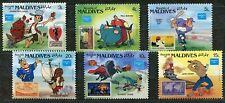 DISNEY 359 - Stamp on Stamp - MALDIVES - MNH