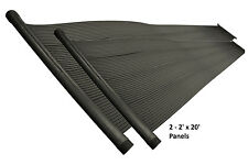 4'x20' Above Ground & In-Ground Swimming Pool Solar Heating Add On Panels
