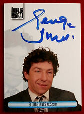 THE AVENGERS 50th - GEORGE INNES as Shaw - Autograph Card AVGI