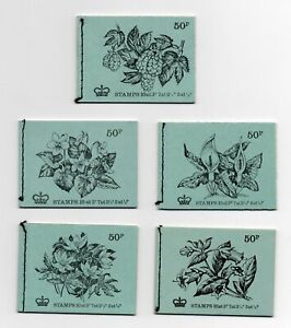 1971/72 British Flowers Stitched Booklets SOLD INDIVIDUALLY-See Drop Down Menu