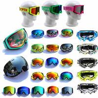 Mens Women Ski Goggles Snow Goggles Anti Fog Dual/Single Lens UV Protection Gift