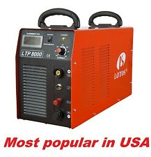Lotos Plasma cutter LTP8000 with Pilot arc cut to 38mm with all accessories