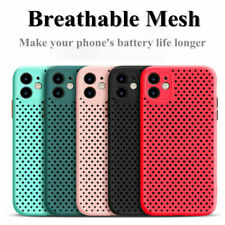 Case For iPhone 12 11 Pro Max XS XR X 8 7 6 Breathable Heat Dissipate Soft Cover