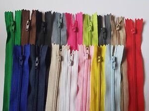ZIPS, zippers Material SIZE 24 cm, Standard style ZIP
