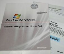 Microsoft - 5 Windows Server 2008/2008 R2 Terminal Cal -Geräte - MUI - 6VC-00081