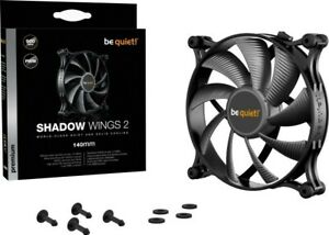 3x be quiet! Shadow Wings 2 PWM, 140mm (BL087) schwarz