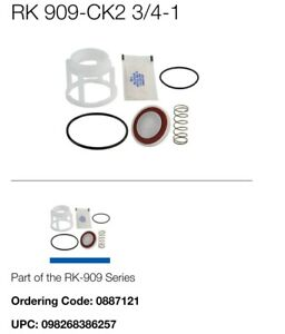 """Watts RK 909-CK2 3/4-1 First Check Repair Kit, 3/4"""" - 1"""" FNFP BRAND NEW 0887121"""