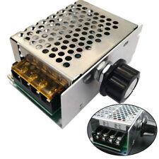 New top 4000W 220V AC SCR Motor Speed Controller Module Voltage Regulator Dimmer