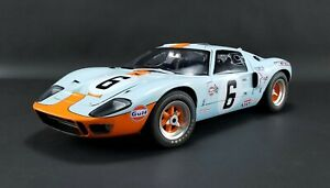 1:12 scale Ford GT40 Mk I - 1969 Le Mans Champion #6 Jacky Ickx & Jackie Oliver