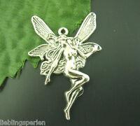 180 Antiksilber Engel Anhänger Perlen Beads 15*21mm LP