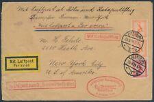 Katapultflug Dampfer Bremen 1.10.1929 ab Flensburg nach New York (S18509)
