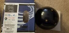 """15 lb 4 oz Storm Hy Road X Bowling Ball w/ 3.5-4"""" pin and 3.26 oz top weight"""