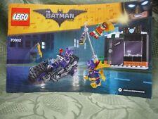 LEGO Batman Movie 70902 Catwoman Catcycle Instruction Manuel How To Build Part