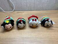 Disney Tsum Tsum X4 Stackable Soft Toy Joblot Plush Christmas Xmas  Bundle S