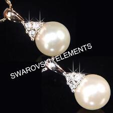 Collane e pendagli di bigiotteria Perle in oro bianco