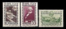 RUSSIA. Karl Marx. 1933. Scott 480-482. MNH  (BI#NM/180408)