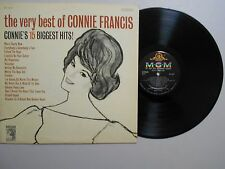 Connie Francis TEEN LP (MGM SE-4167) The Very Best Of Connie Francis VG+ STEREO
