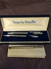 Targa By Shaeffer Stainless Steel Ball Pen & Pencil Set With Case