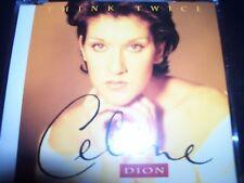 Celine Dion Think Twice EU CD Single – Like New