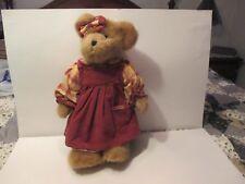 Boyd's Bears Suzie B. Spiceberry #94692Yc- T, J,'s Best Dressed