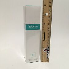 GAP Heaven Eau De Toilette Perfume 3.4 oz 100mL Natural Spray RETIRED Rare SEE..