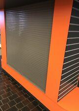 Security Window roller Shutter Door Industrial Manual Opening Shop Front Keys