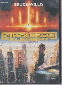 Le Cinquième Element Dvd Bruce Willis Luc Besson Milla Jovovich