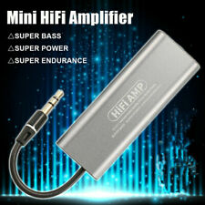 Mini Hifi Stereo Audio Amplifier 3.5mm AUX Headphone AMP HIFI Earphone Amplifier