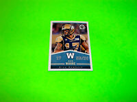 WINNIPEG BLUE BOMBERS NICK MOORE OPC OPEE CHEE UPPER DECK CFL FOOTBALL CARD # 49