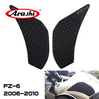For Yamaha FZ6 600 2006 - 2010 2009 2008 Gas Tank Traction Side Pads Protector