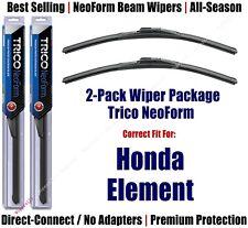 2pk Super-Premium NeoForm Wipers fit 2003-2011 Honda Element 16200x2